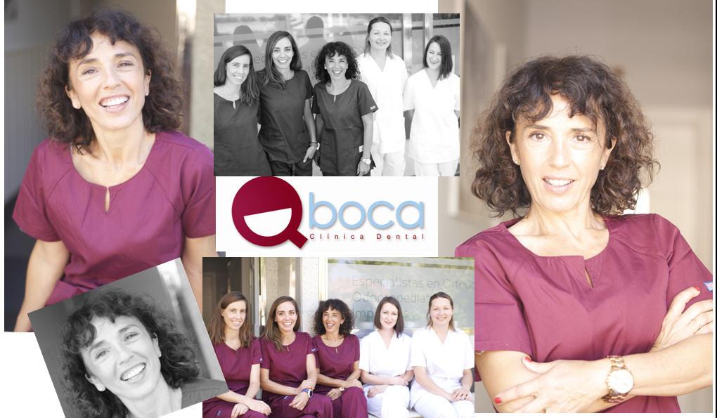 Dra. Rosa Gomez Arias - Equipo Clinica dental Qboca